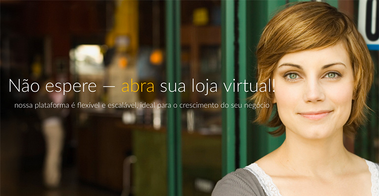 Exemplo de Plataforma de eCommerce SaaS